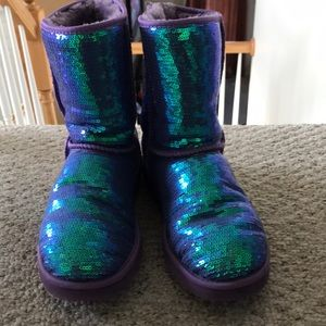 Womens UGG Boot purple